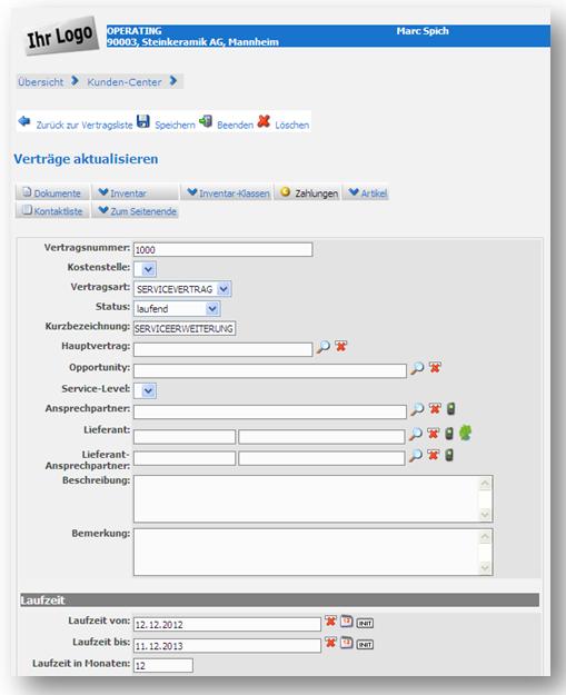 browserbasierte software